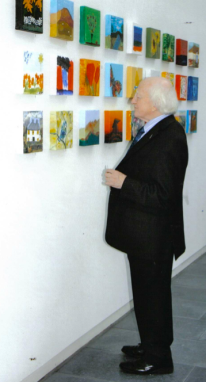 President Higgins at CONNECTIONS